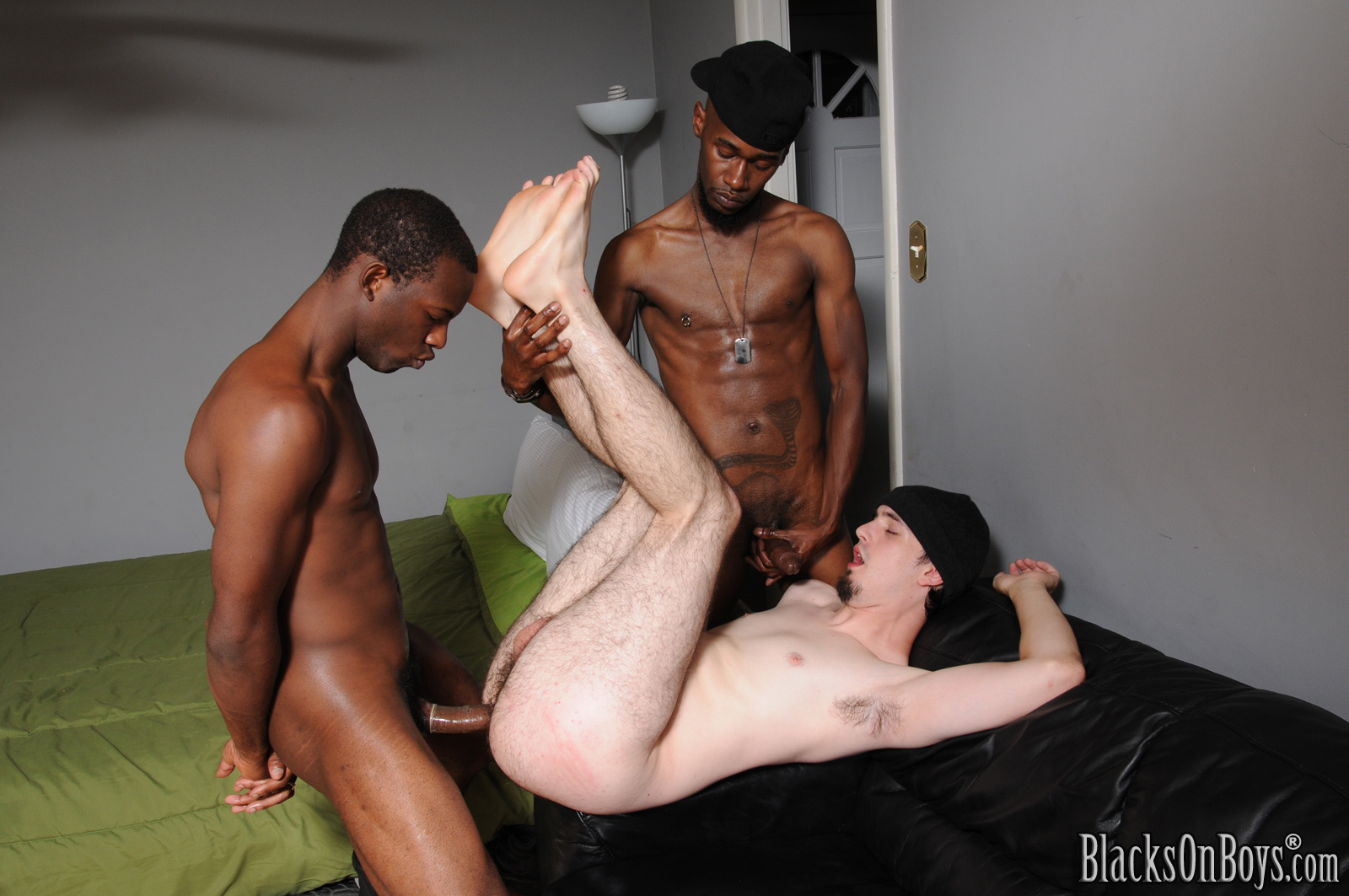 Interracial gay back sex