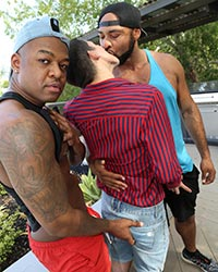 Interracial Reverse Gangbang Brad Wilde, Mr Cali and Ray Diesel