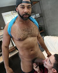 Brad Wilde, Mr Cali and Ray Diesel Black Fuck
