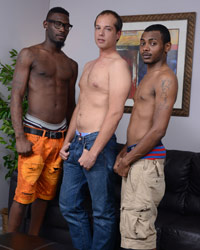 Caden Grey, Brooklyn & Steel Black Dick Chicks