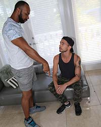 Free Interracial Gangbang Video Danny Blue & Ray Diesel