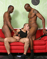 David Madrid Riding Big Black Dick