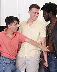 Dean Diego, Devin Trez & San Paul Mixed Race Couple