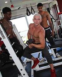 Jay Dymel, Knockout and Leon Redd Blacks And Blondes
