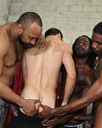 Max Adonis, Fame, Knockout & Ray Diesel Black Interracial Sex