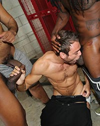 Max Adonis, Fame, Knockout & Ray Diesel Wife Slut Black Cock