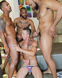 Nic Sahara, August Alexander, Jacen Zhu & Ray Diesel Black Pricks