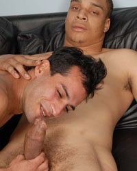 Gay Interracial Sex : Colby!